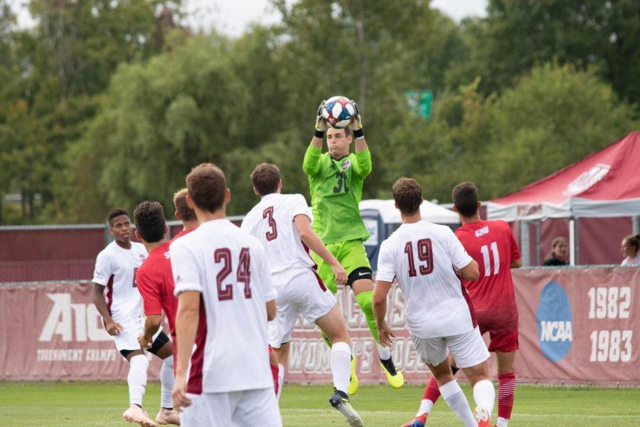 UMass men's soccer returns home after four-game road trip to face off against George Washington