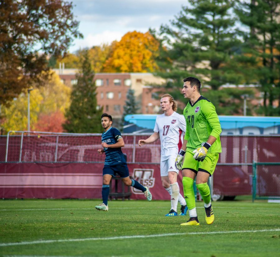 UMass men's soccer travels to Davidson for crucial A-10 conference matchup on Saturday