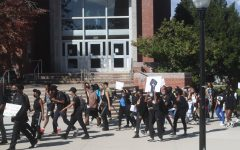 'We are here to be revolutionary': Students march to demand support for the Black community at UMass
